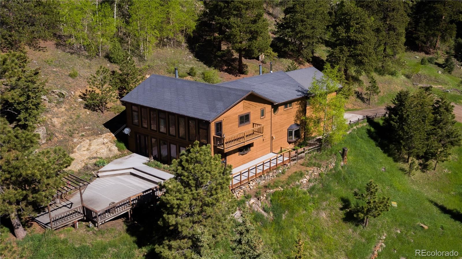 4005  Douglas Mountain Drive, Golden, CO 80403 - #: 4636006