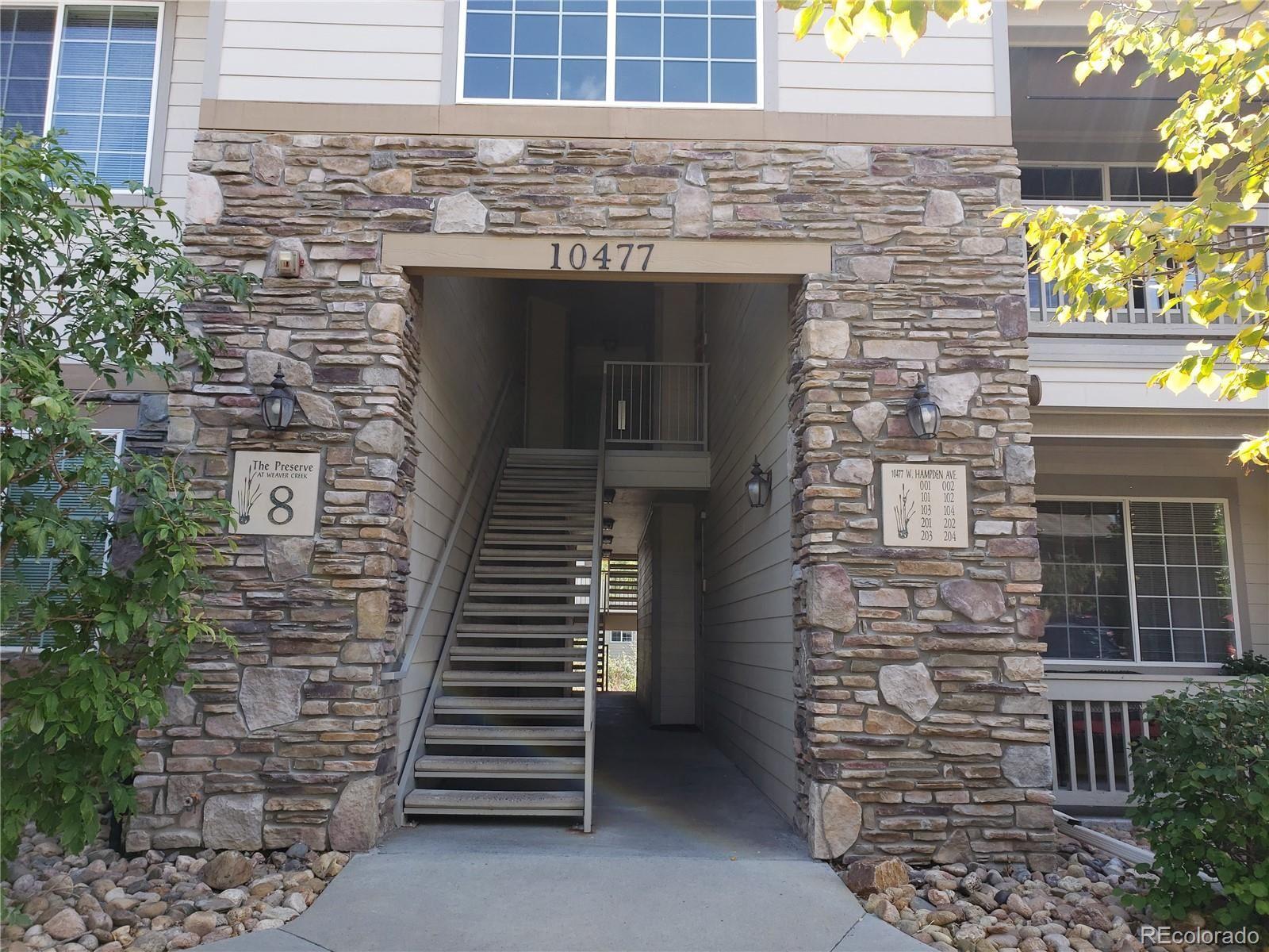 10477 W Hampden Avenue #103, Lakewood, CO 80227 - MLS#: 4057026