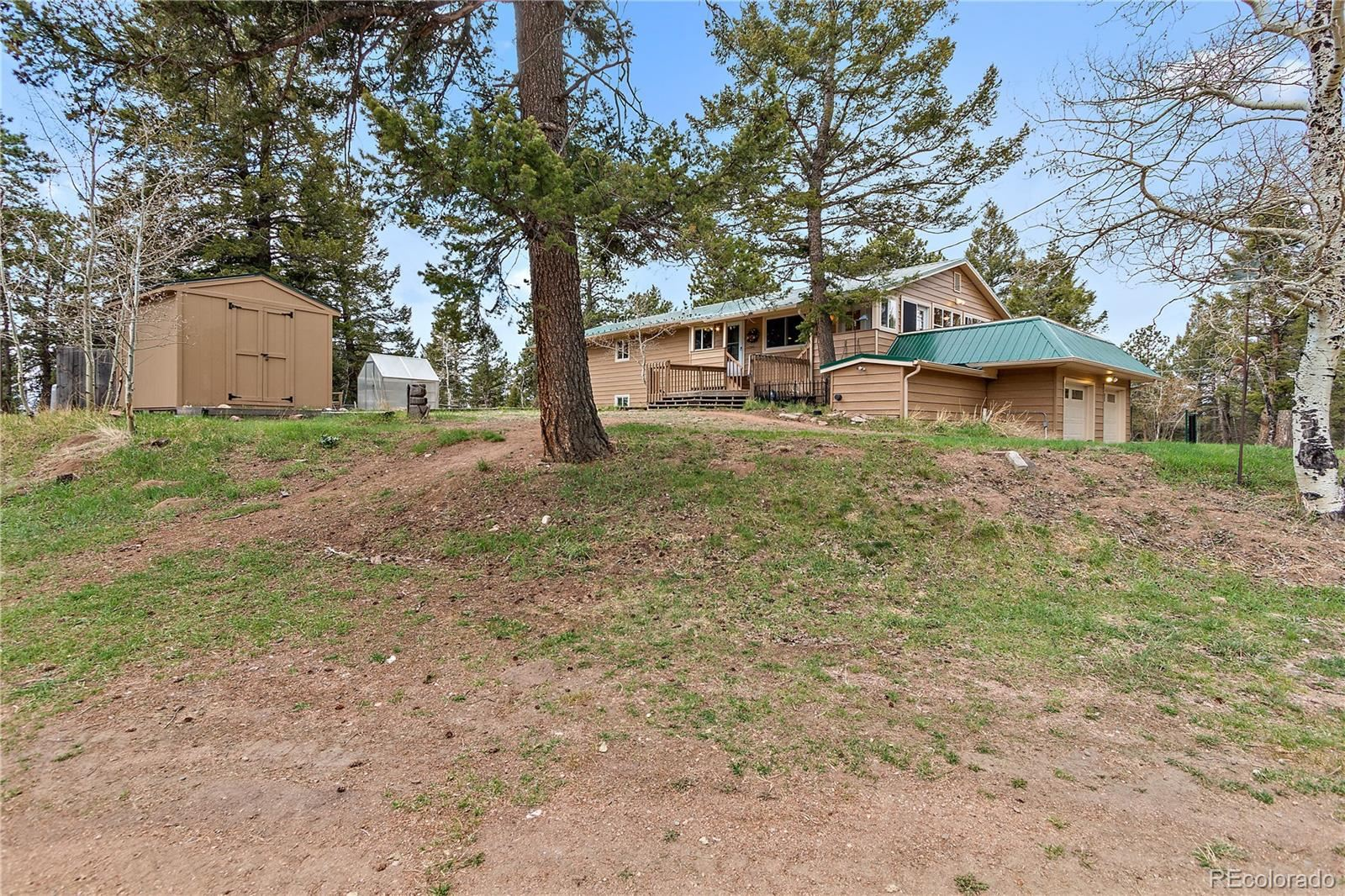 12322 S Wamblee Valley Road, Conifer, CO 80433 - #: 8558026