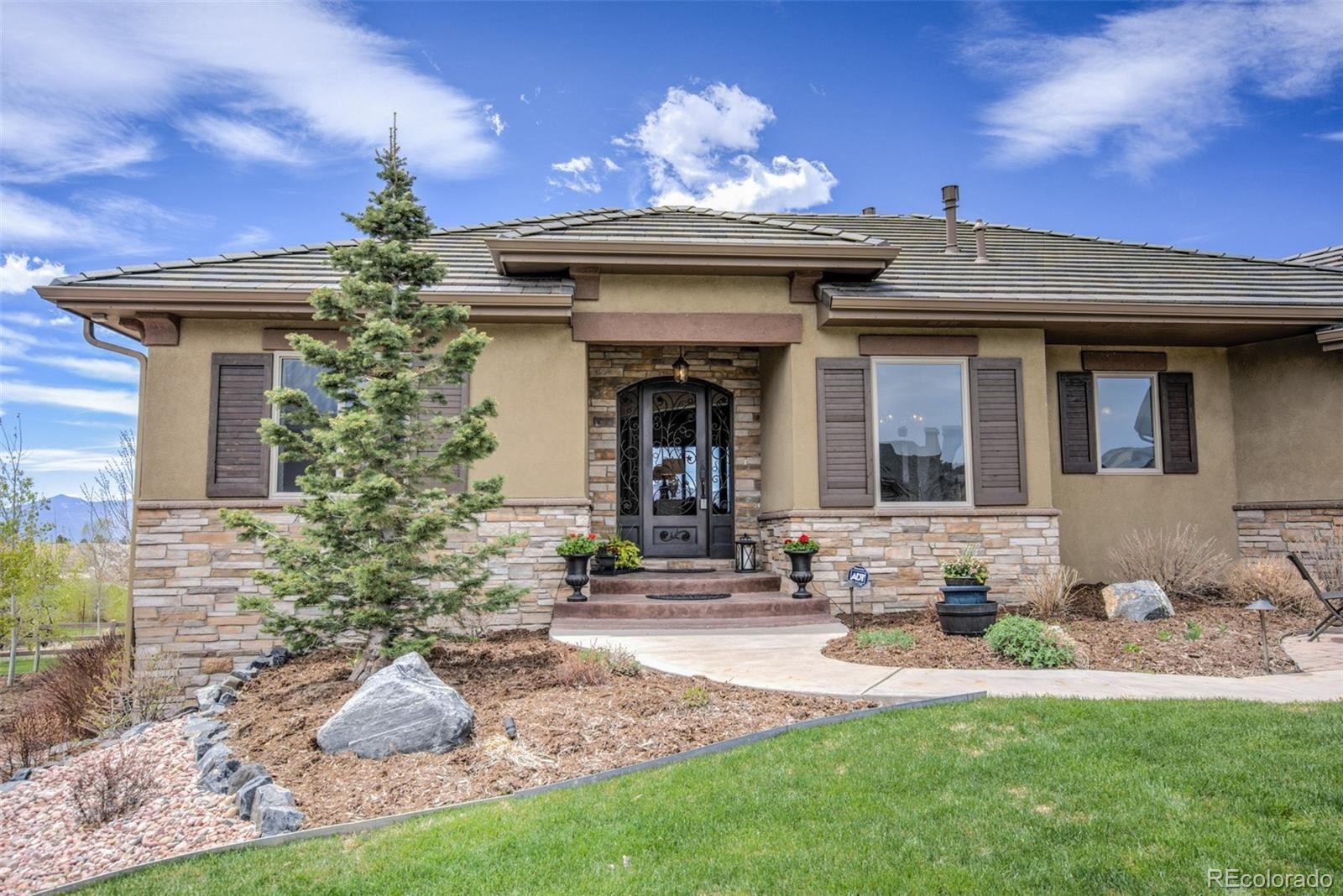 1957  Bent Creek Drive, Colorado Springs, CO 80921 - #: 7494034