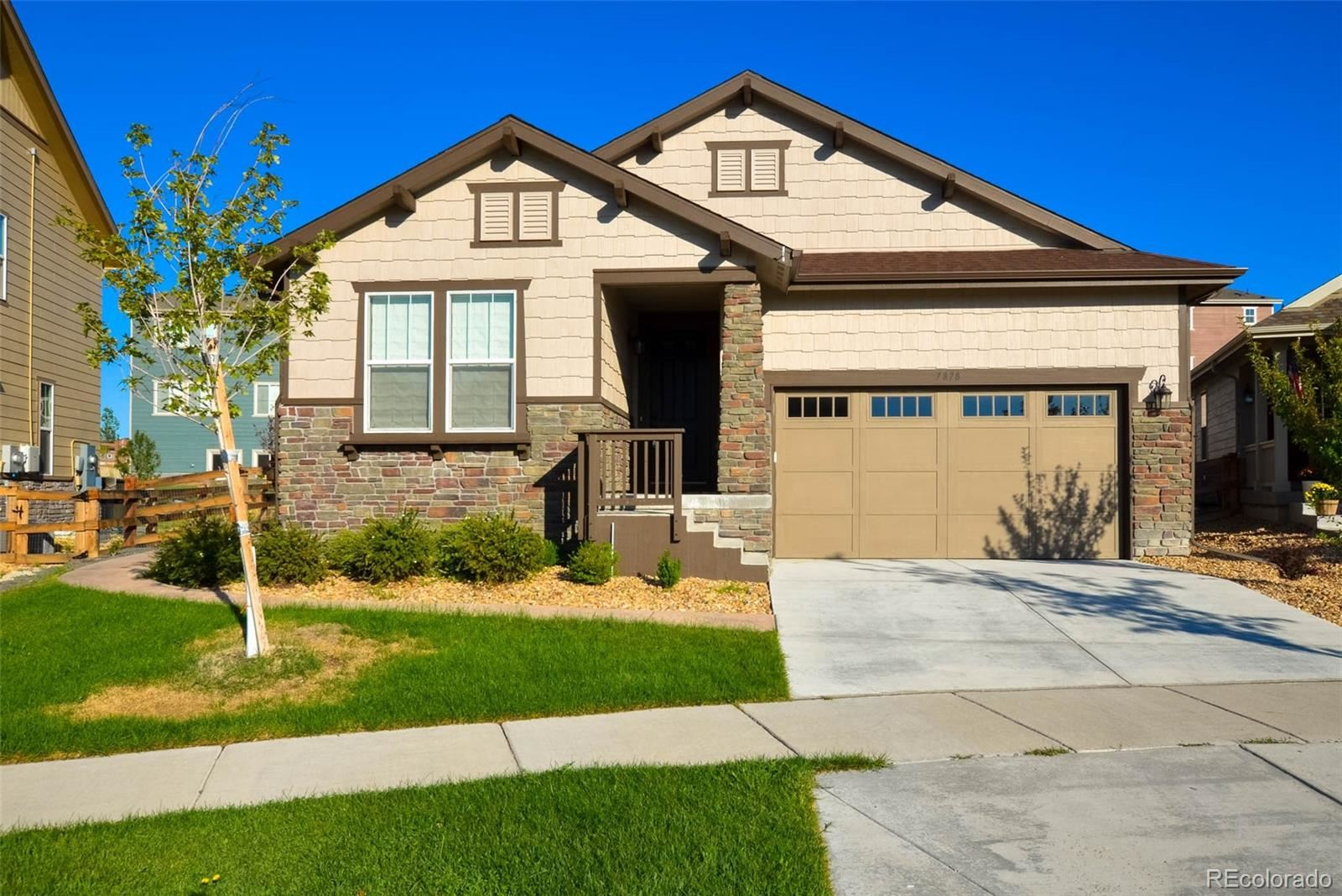 7878 S Flat Rock Court, Aurora, CO 80016 - #: 3629057