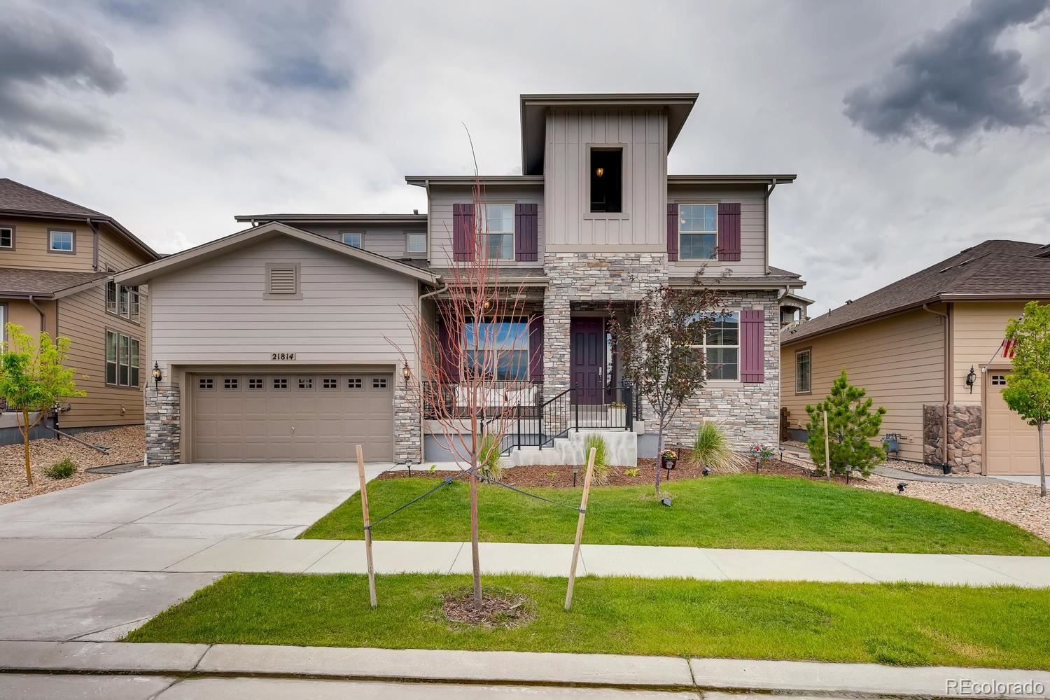 21814  Discovery Avenue, Parker, CO 80138 - #: 9545068