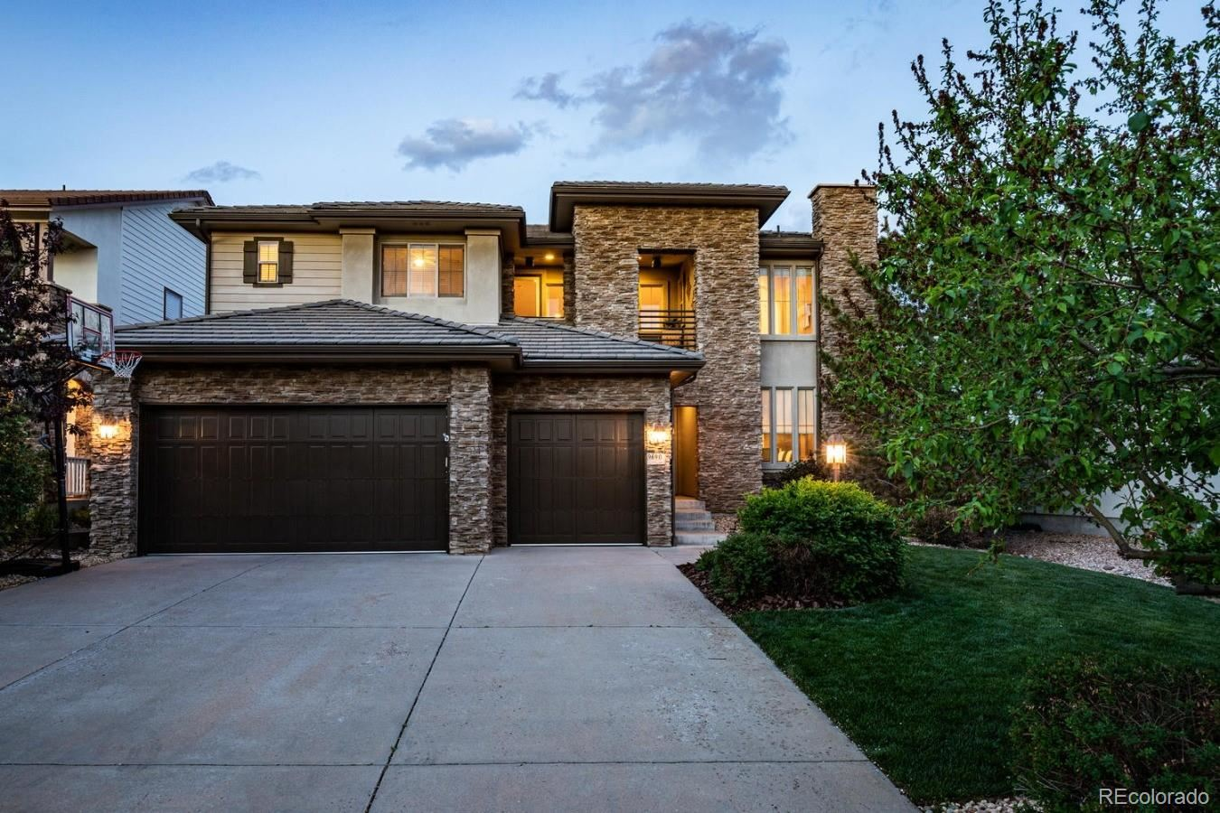 9690  Sunset Hill Drive, Lone Tree, CO 80124 - #: 3548079
