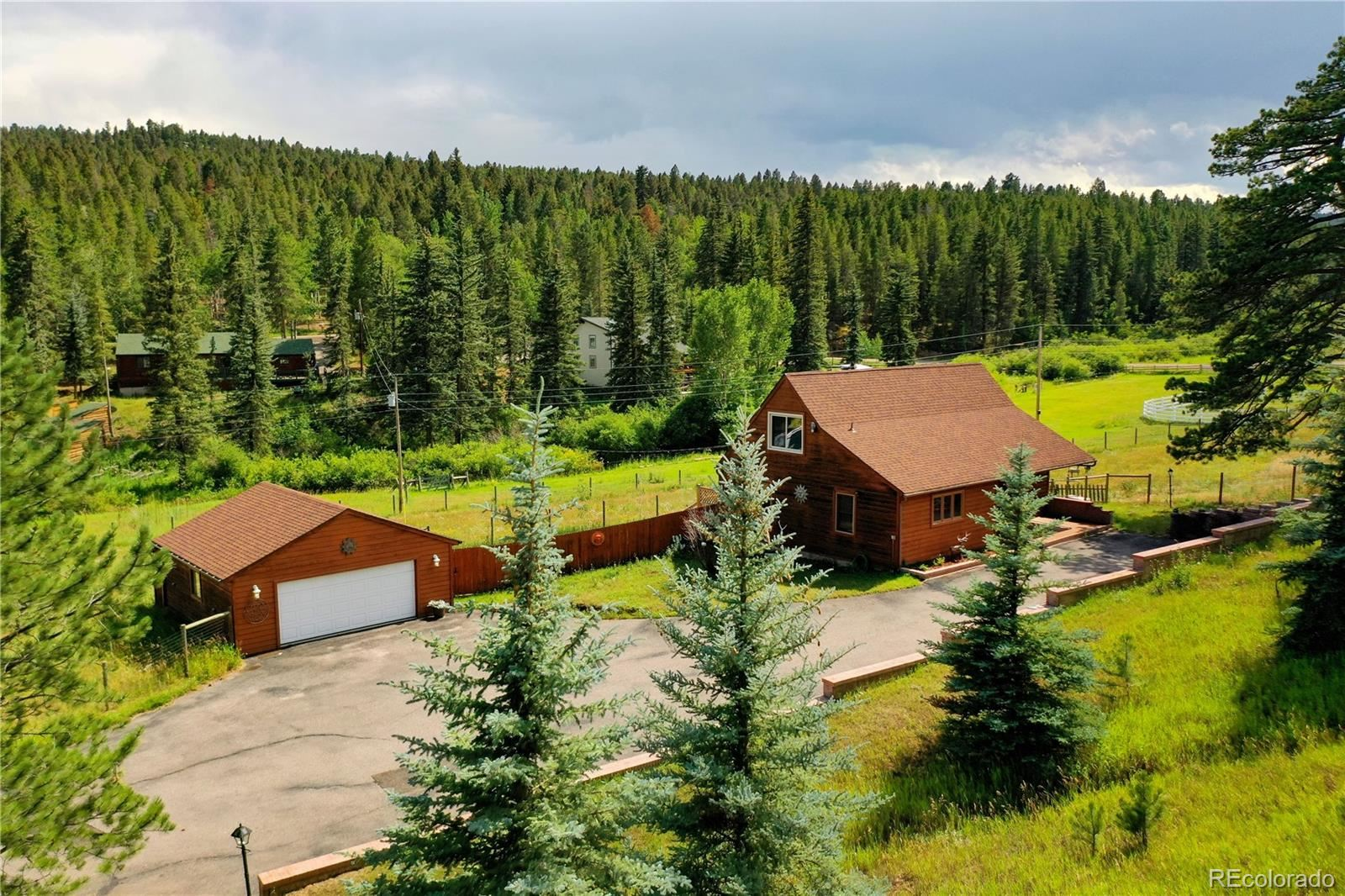 27256 Stagecoach Road, Conifer, CO 80433 - #: 2743090