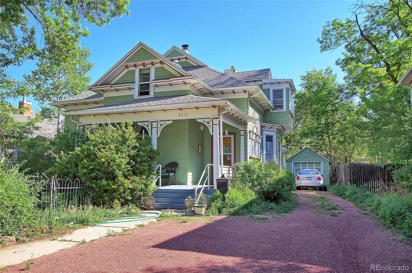 1218 W Pikes Peak Avenue, Colorado Springs, CO 80904 - #: 5598112