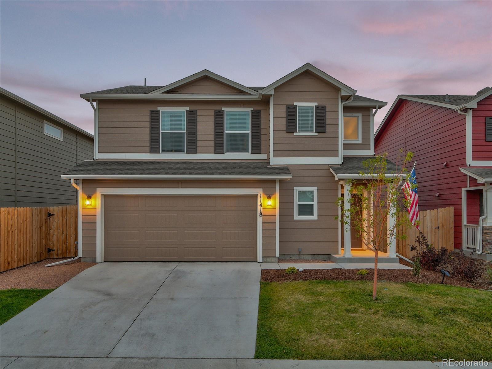 11418 Moonrock Heights, Peyton, CO 80831 - MLS#: 4876139