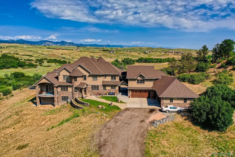 Photo of 4974 Lambert Ranch Trail, Sedalia, CO 80135 (MLS # 9593140)