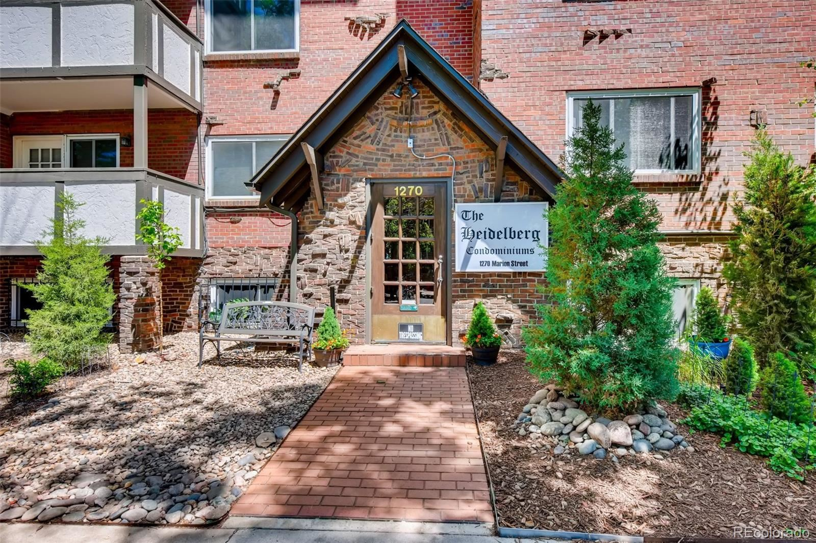 1270 N Marion Street #102, Denver, CO 80218 - #: 8844151