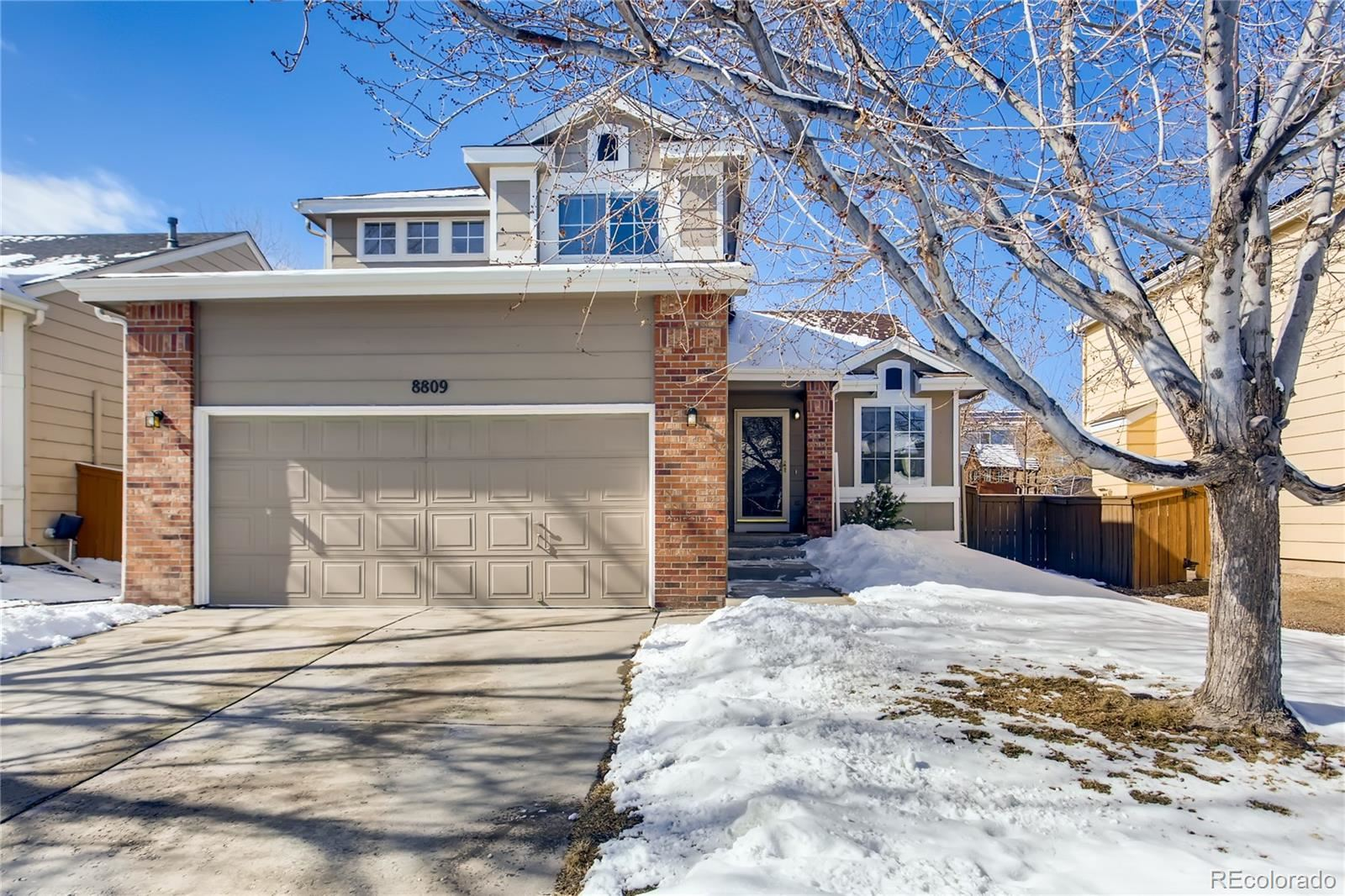 8809  Miners Drive, Highlands Ranch, CO 80126 - #: 3250175