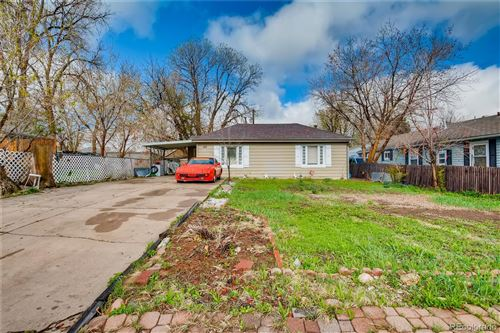 Photo of 143 Osceola Street, Denver, CO 80219 (MLS # 8046177)