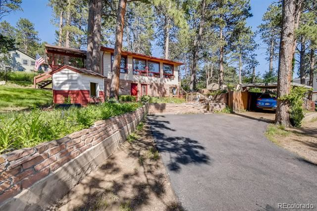 4570 Parmalee Gulch Road, Indian Hills, CO 80454 - #: 1780189