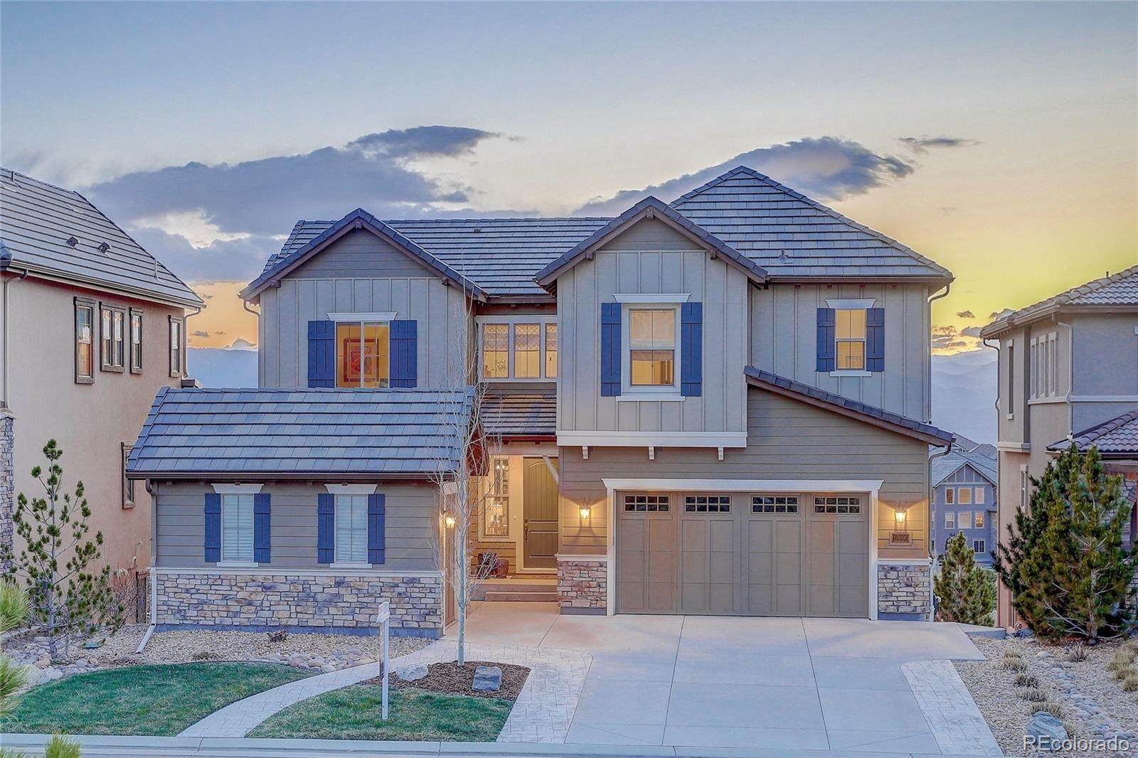 10695  Timberdash Avenue, Highlands Ranch, CO 80126 - #: 4160189