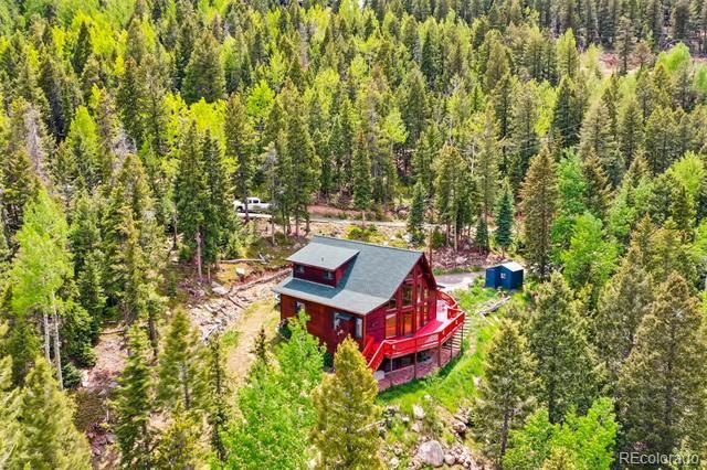 10258 Christopher Drive, Conifer, CO 80433 - #: 9198196