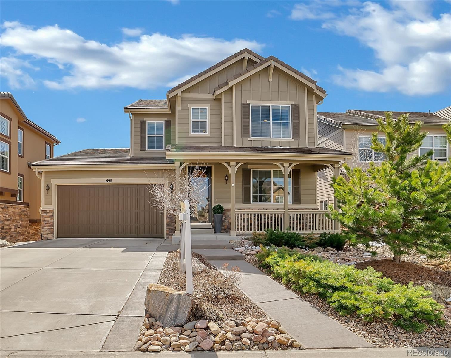 698  Tiger Lily Way, Highlands Ranch, CO 80126 - #: 1745209