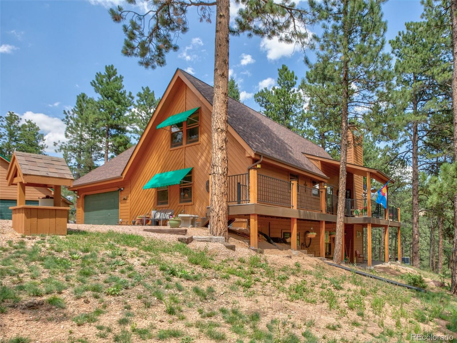 Photo of 598 Crystola Court, Woodland Park, CO 80863 (MLS # 3455222)