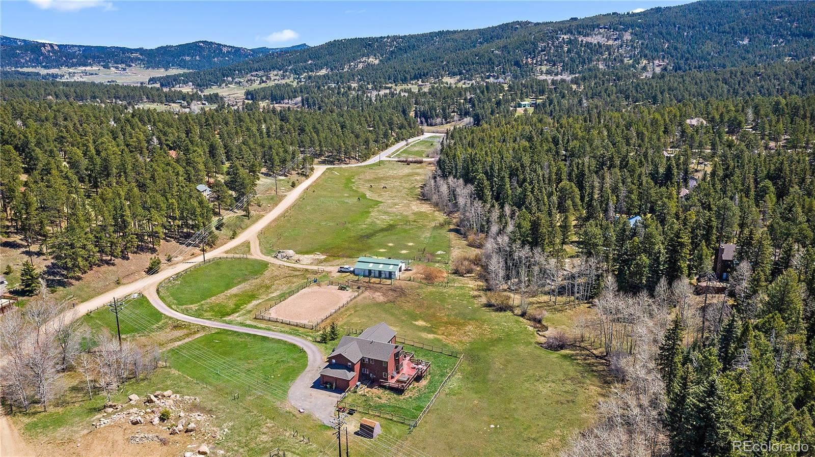28396 Fleming Road, Evergreen, CO 80439 - #: 4282257