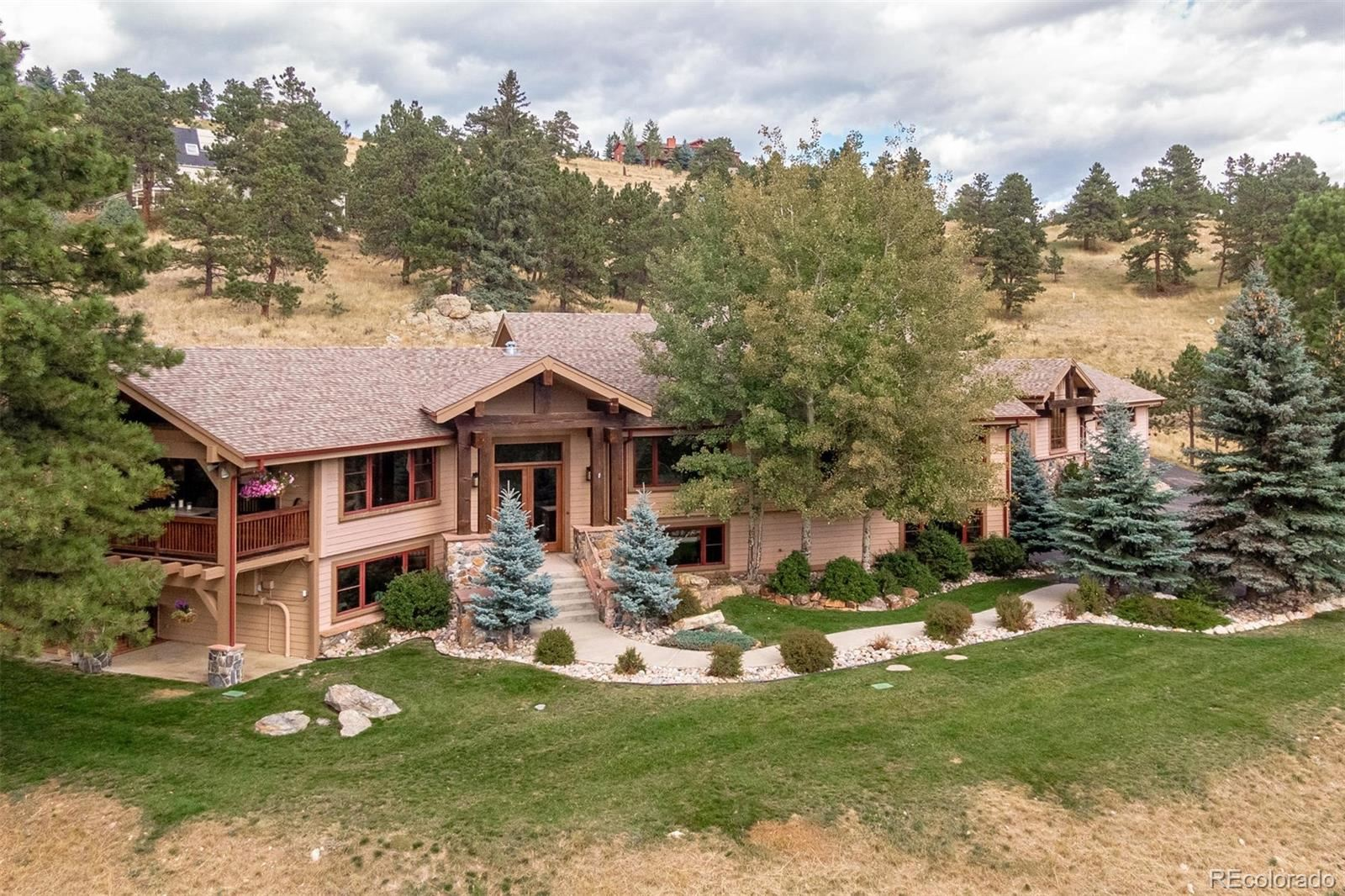 497  Meadow Vista Drive, Evergreen, CO 80439 - #: 8296262