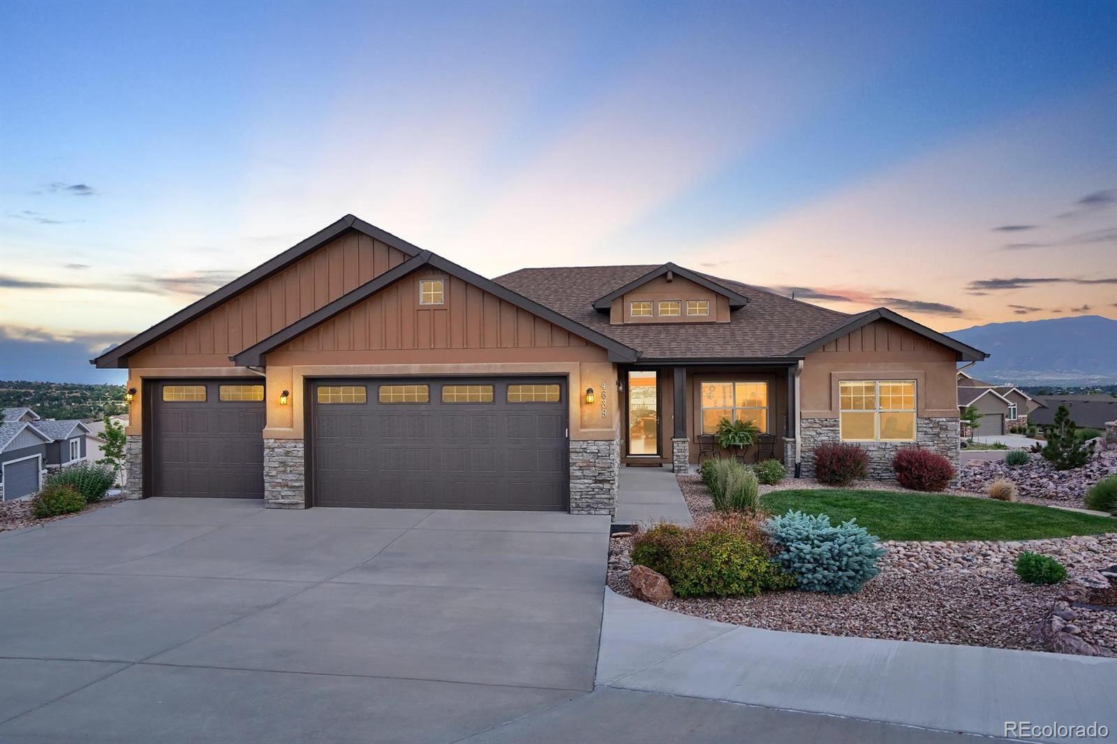 4639 Cedarmere Drive, Colorado Springs, CO 80918 - #: 6334266
