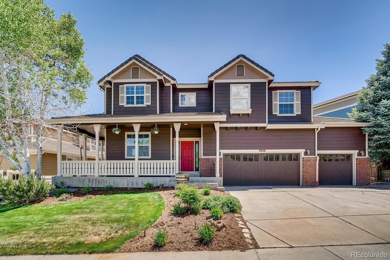 3920  Sunridge Terrace Drive, Castle Rock, CO 80109 - #: 4617273