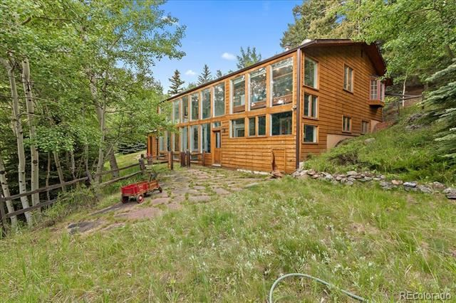 4300 Witter Gulch Road, Evergreen, CO 80439 - #: 7978275