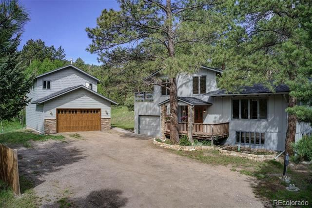 5285 South Hatch Drive, Evergreen, CO 80439 - #: 5951286