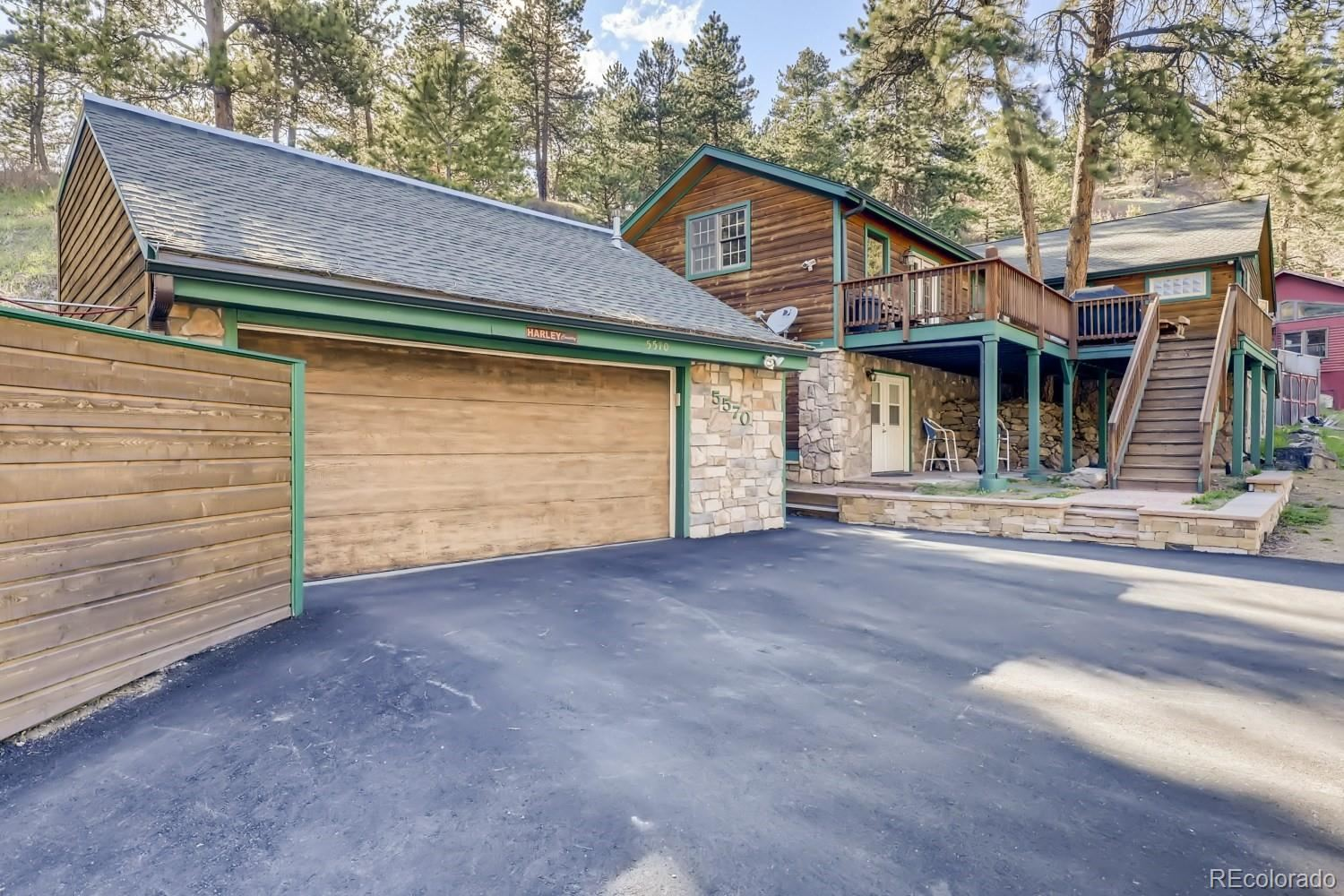 5570  Parmalee Gulch Road, Indian Hills, CO 80454 - #: 6602289