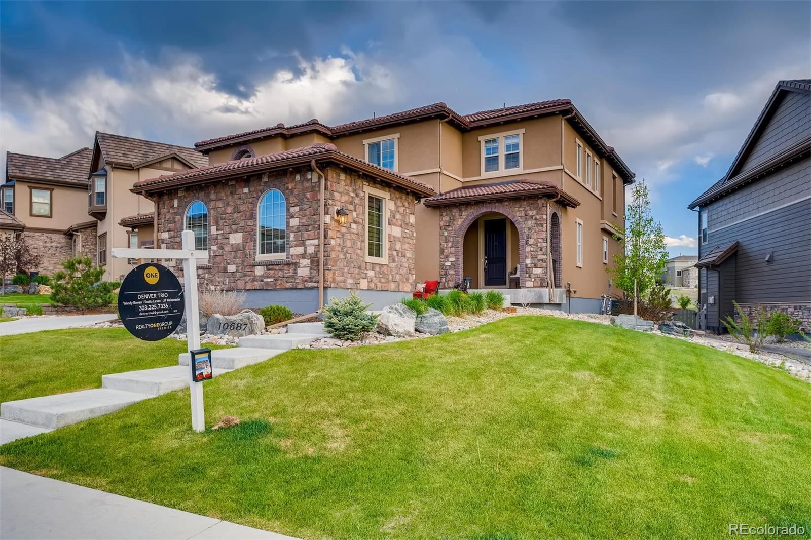 10687  Greycliffe Drive, Highlands Ranch, CO 80126 - #: 8211293