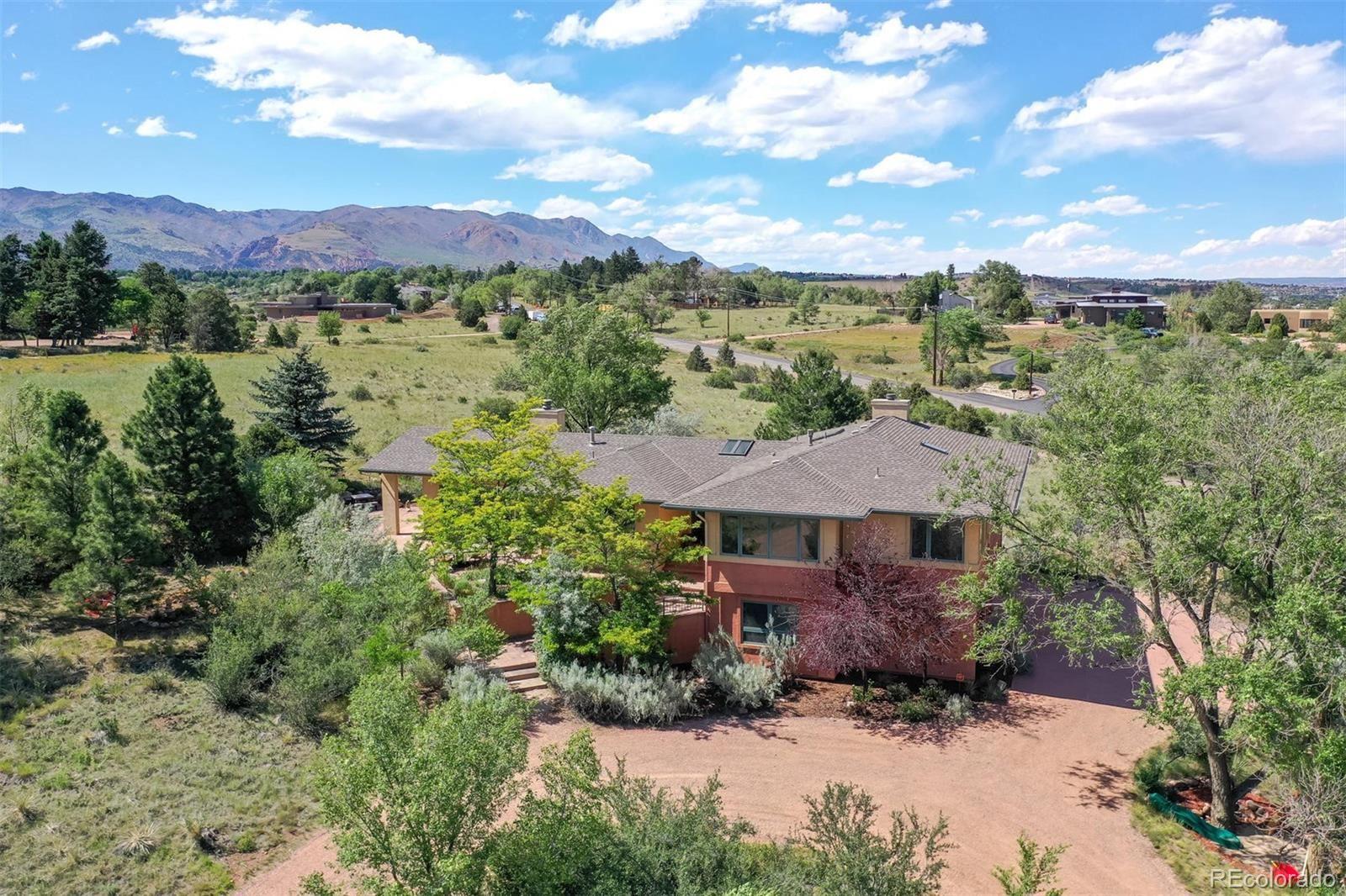 1460 Mesa Road, Colorado Springs, CO 80904 - #: 4355319