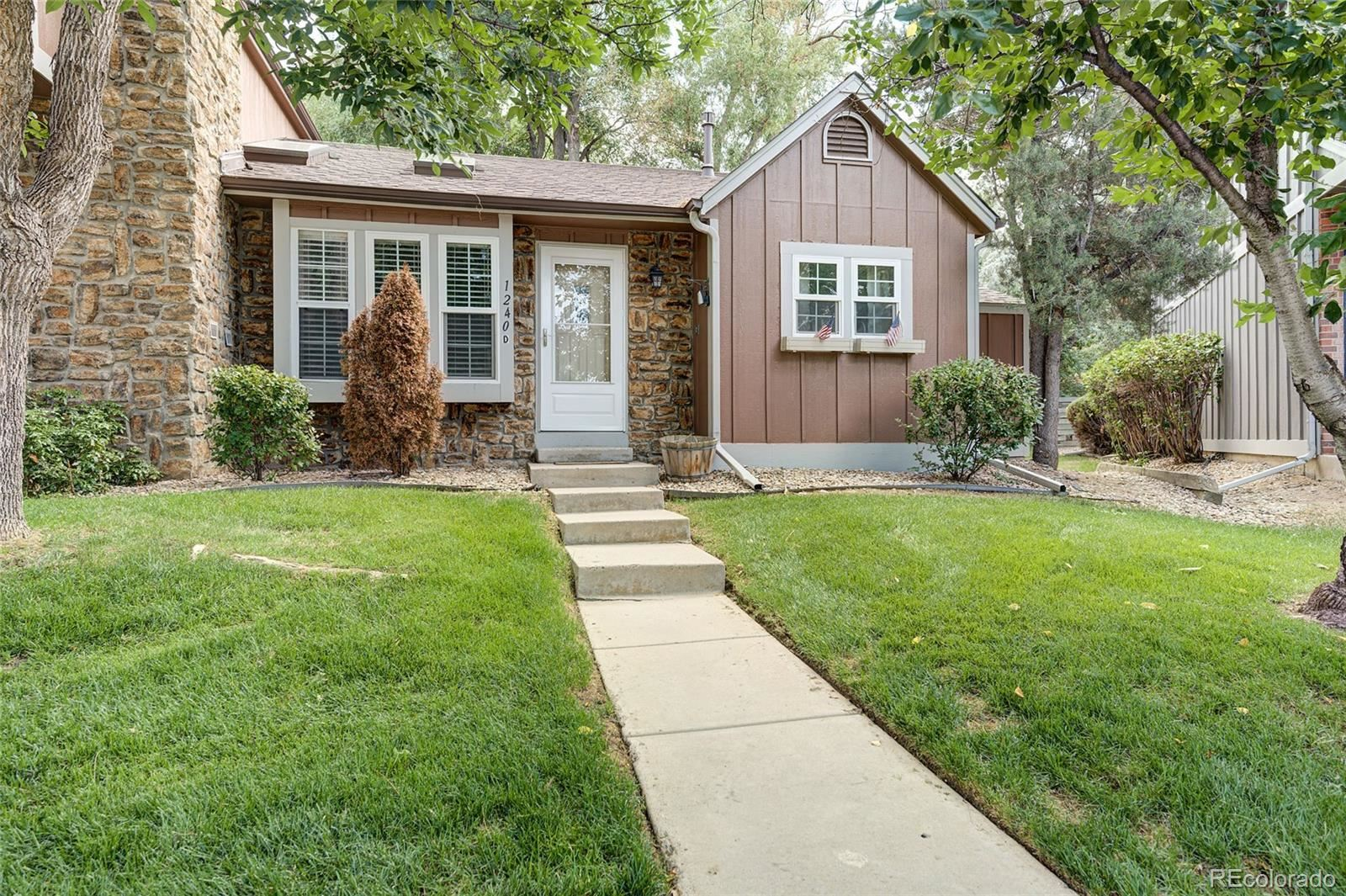 1240 S Flower Circle #D, Lakewood, CO 80232 - #: 5969319