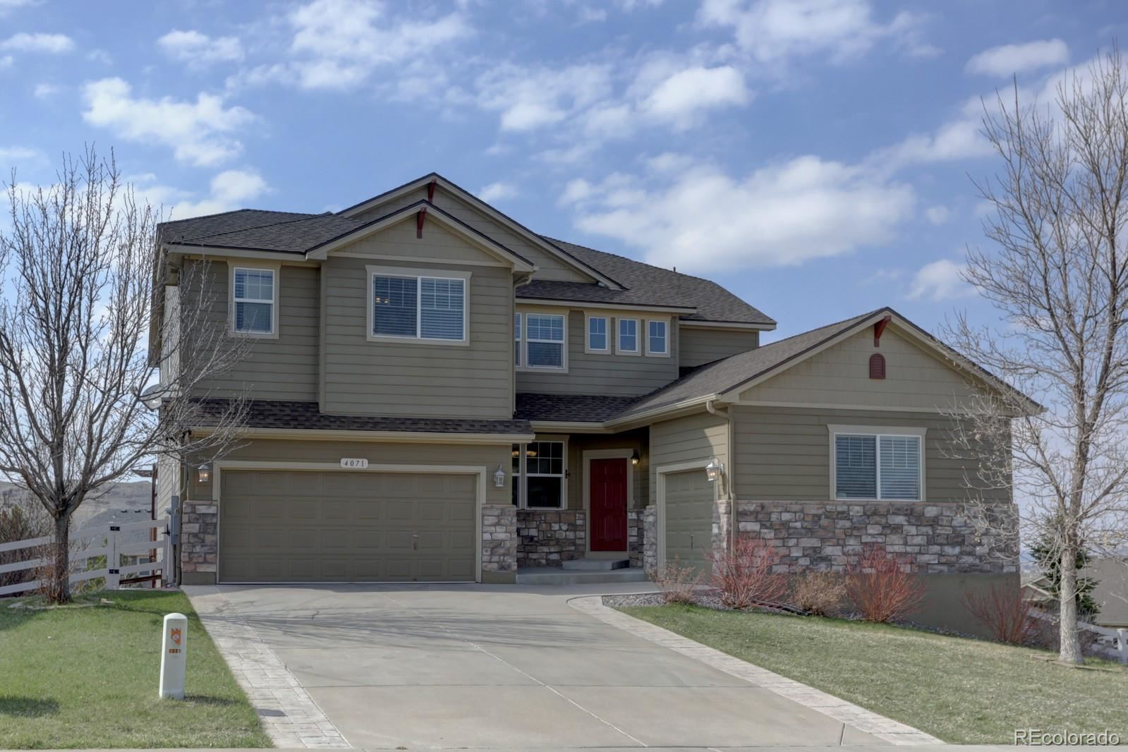 4071  County View Way, Castle Rock, CO 80104 - #: 6679342