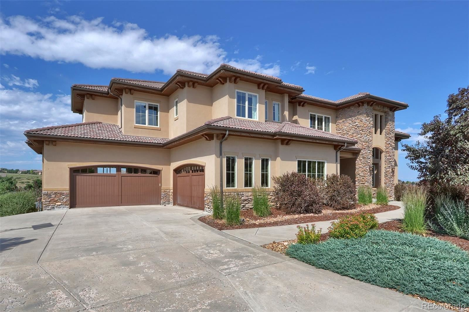 9863 Sara Gulch Circle, Parker, CO 80138 - #: 7734344