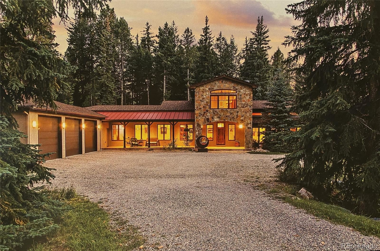 8701 Grizzly Way, Evergreen, CO 80439 - #: 8365348