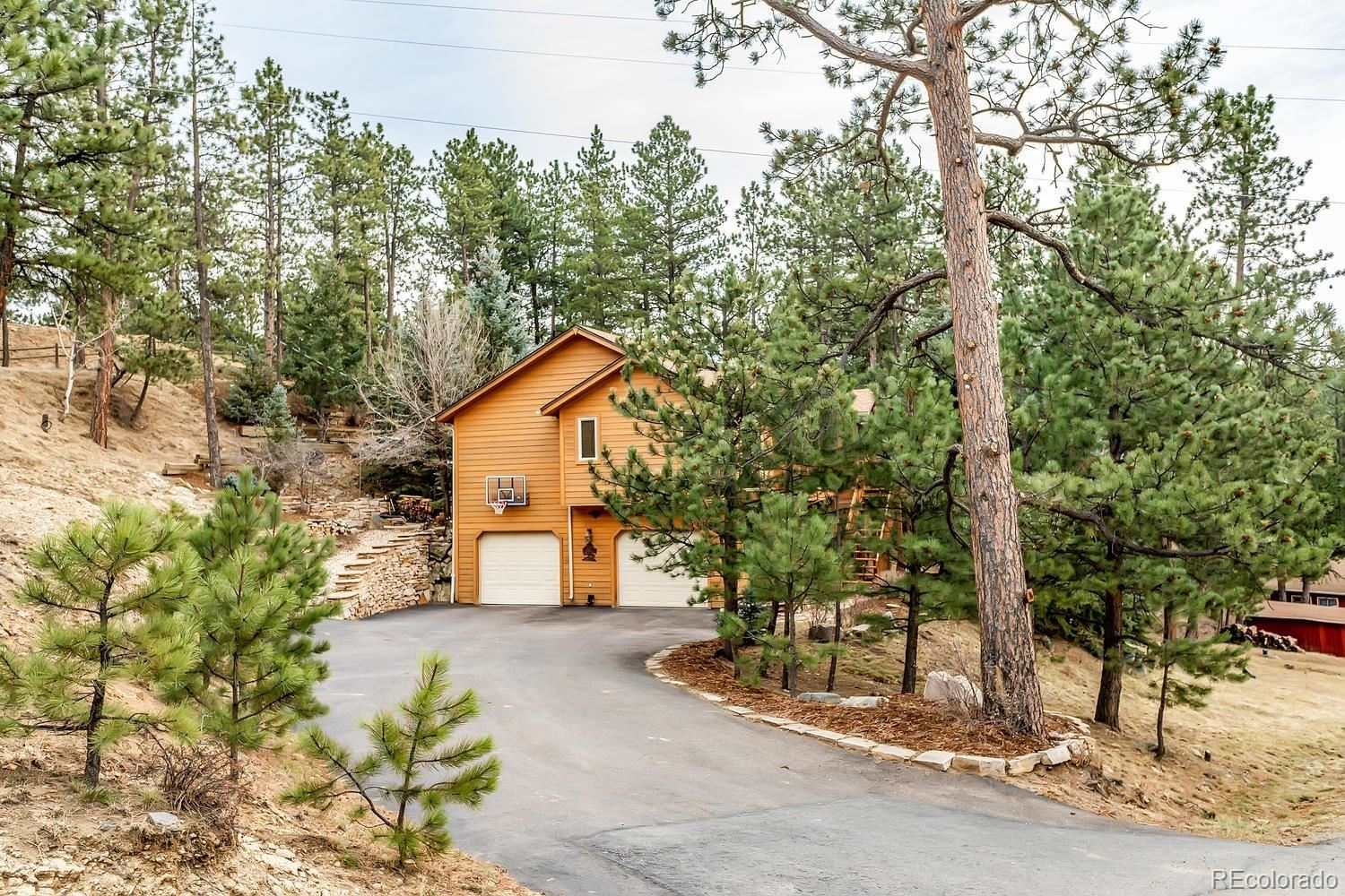 206  Echo Lake Drive, Evergreen, CO 80439 - #: 8643354