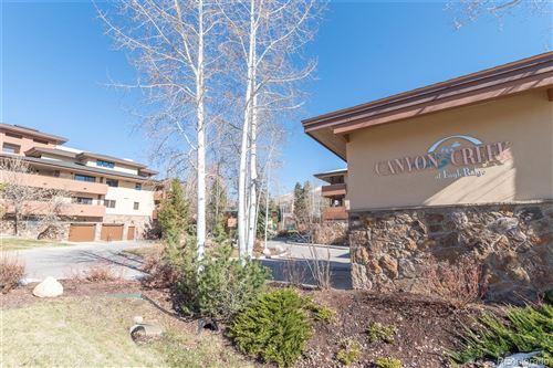 Photo for 2720  Eagleridge Drive  202 #202, Steamboat Springs, CO 80487 (MLS # 8657381)