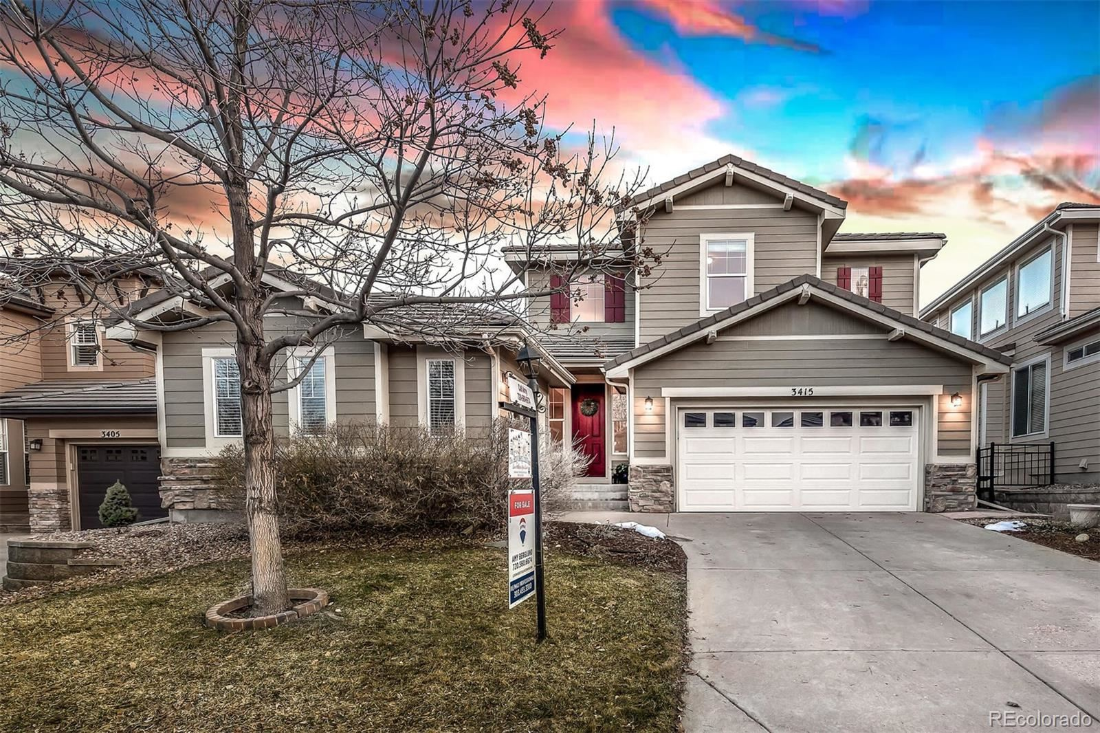 3415 Westbrook Lane, Highlands Ranch, CO 80129 - #: 8541387