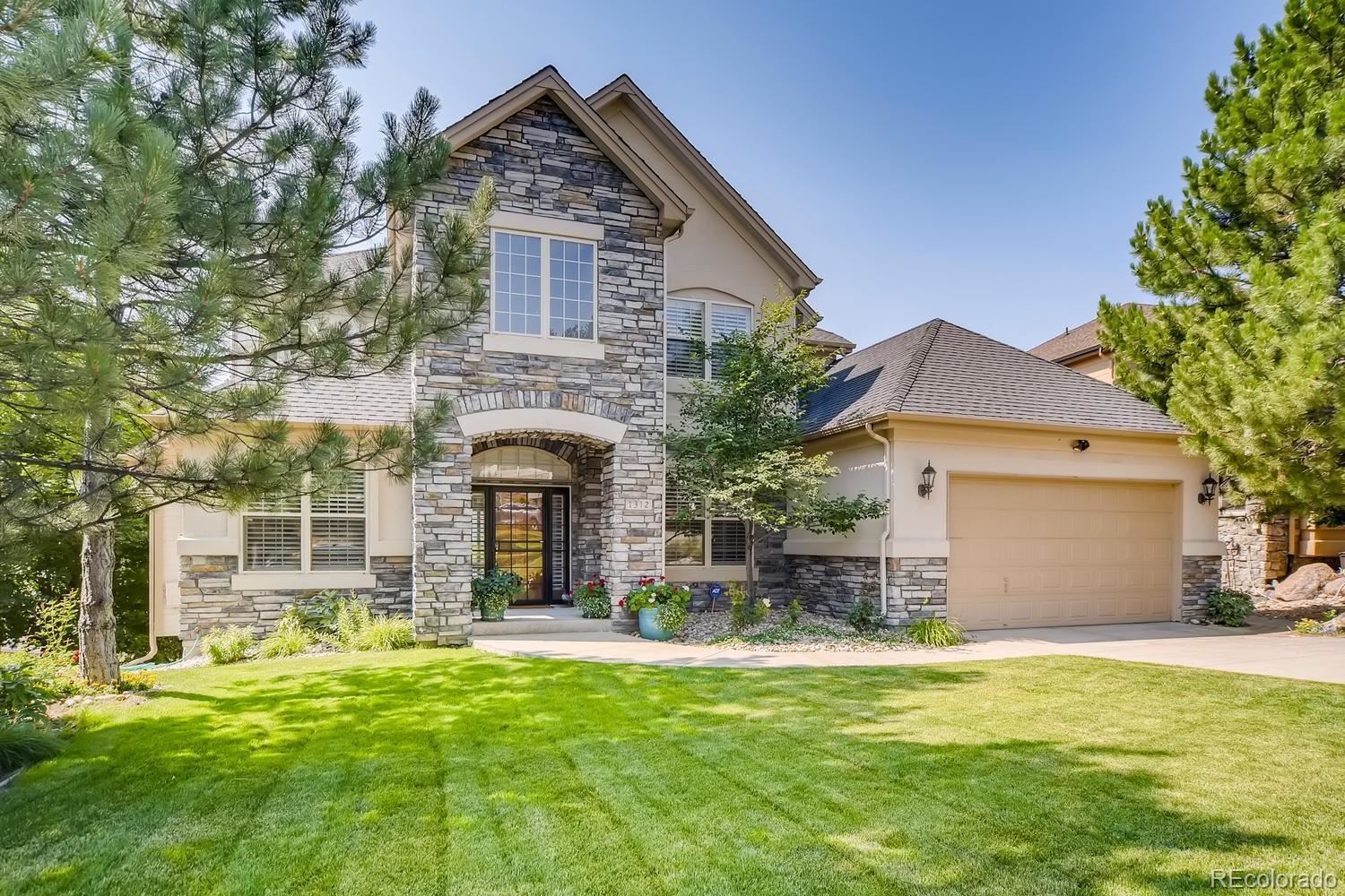 1312 Forest Trails Drive, Castle Pines, CO 80108 - #: 3731392