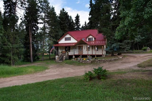8821 South Blue Creek Road, Evergreen, CO 80439 - #: 4278394
