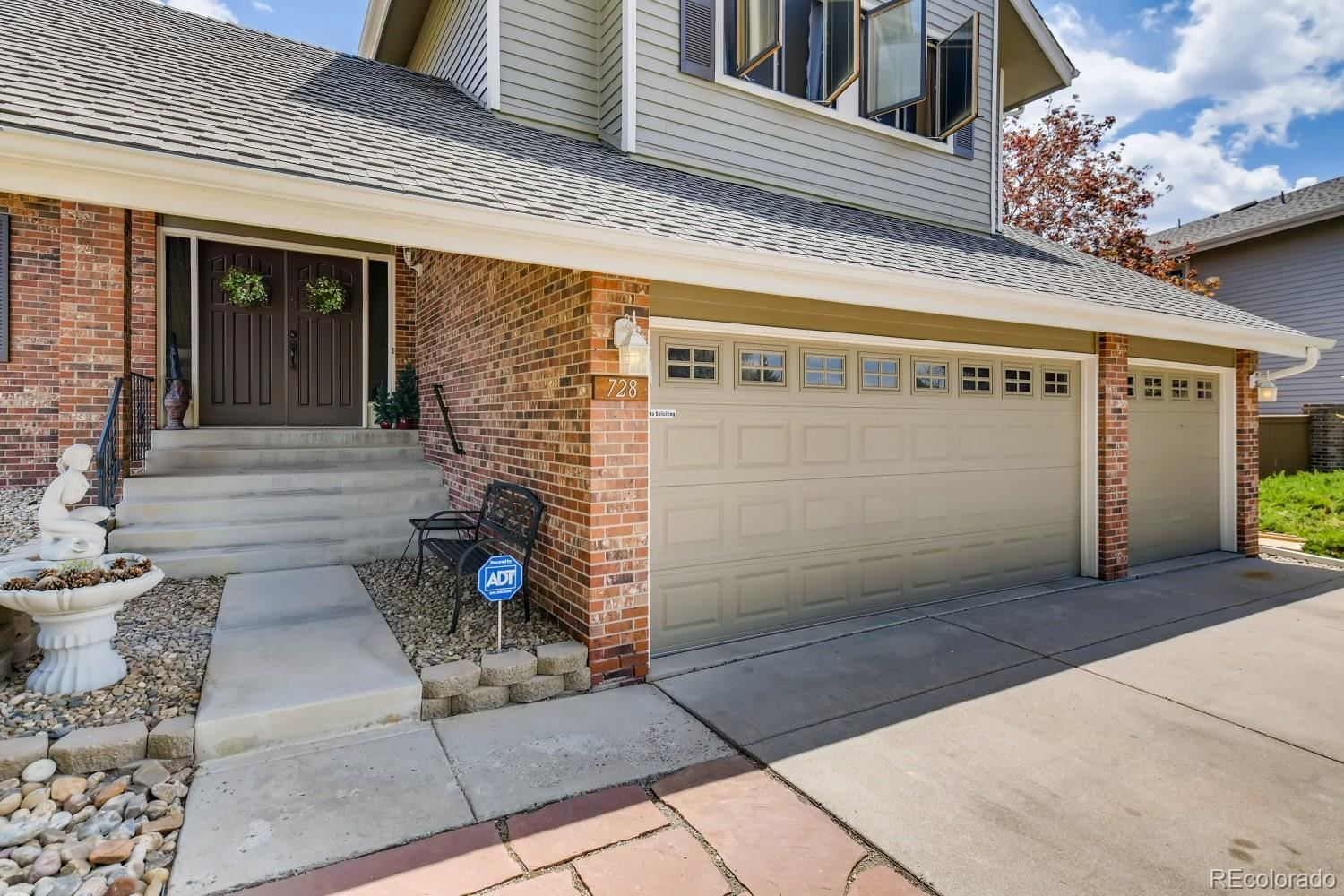 728  Old Stone Drive, Highlands Ranch, CO 80126 - #: 9981400