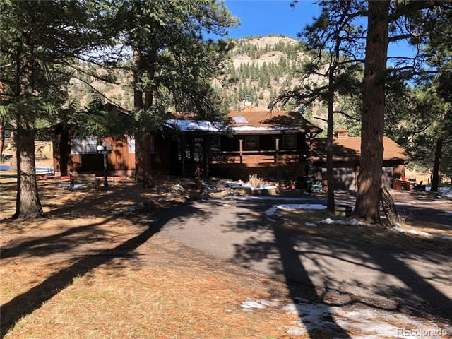 4899 Buffalo Creek Drive, Evergreen, CO 80439 - #: 8169410