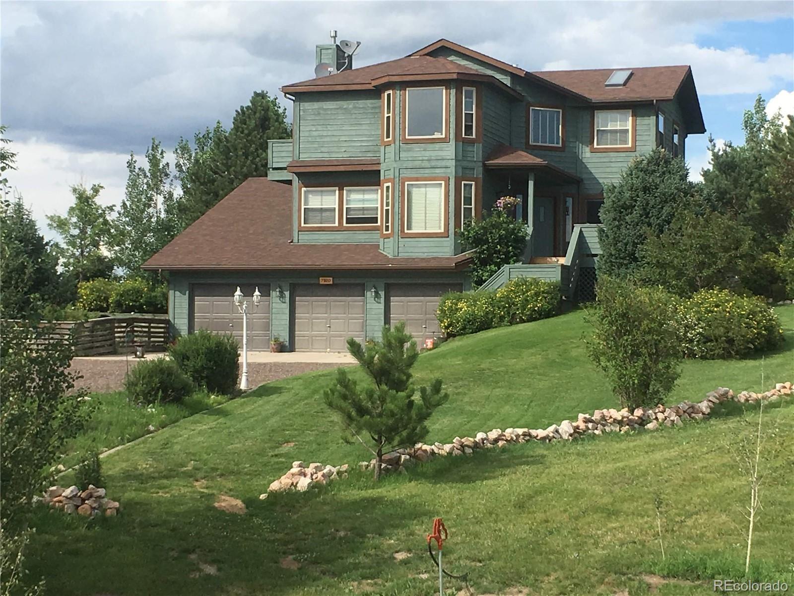 7320  Pine Cone Road, Colorado Springs, CO 80908 - #: 9234410