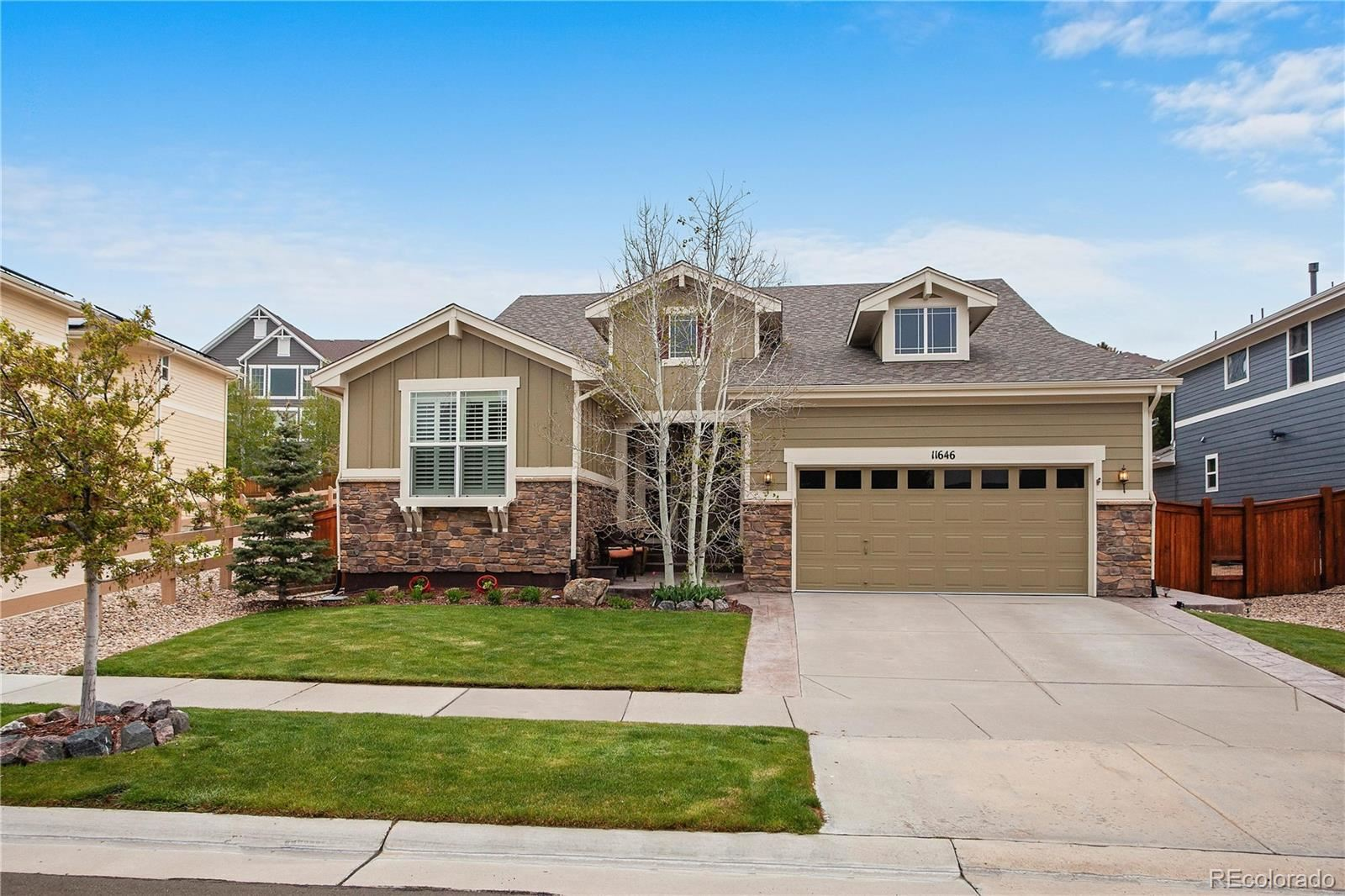 11646 S Flower Mound Way, Parker, CO 80134 - #: 1797421