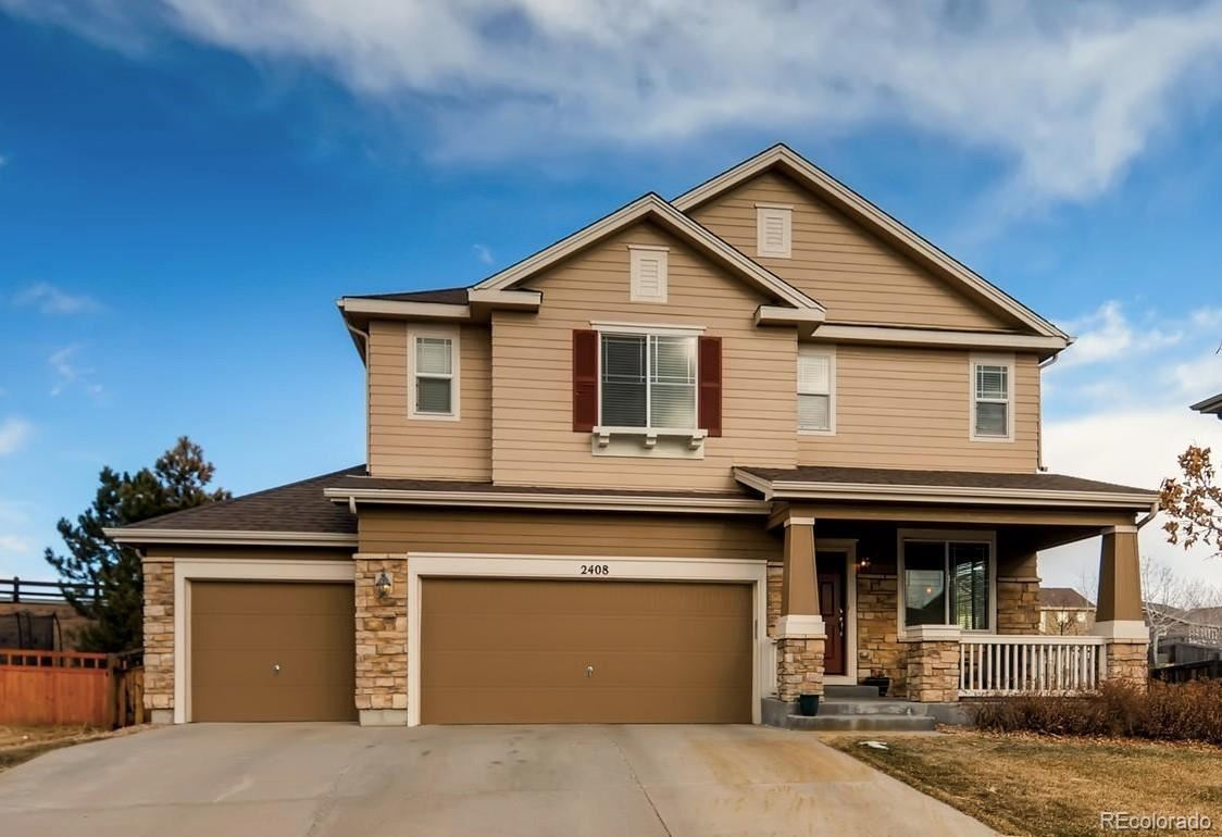 2408  Thistle Court, Castle Rock, CO 80109 - #: 8195421