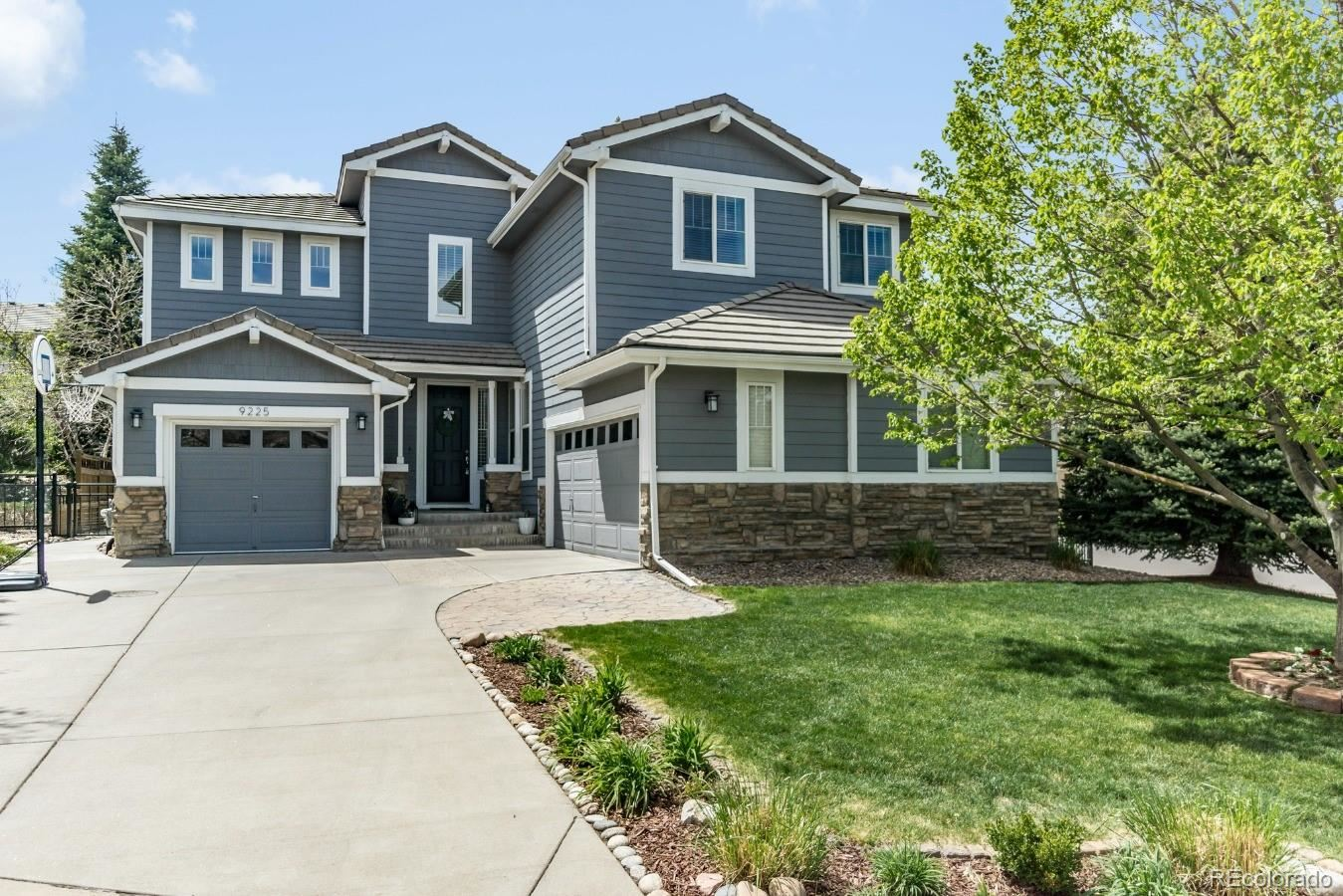 9225 Aspen Creek Way, Highlands Ranch, CO 80129 - #: 8773427