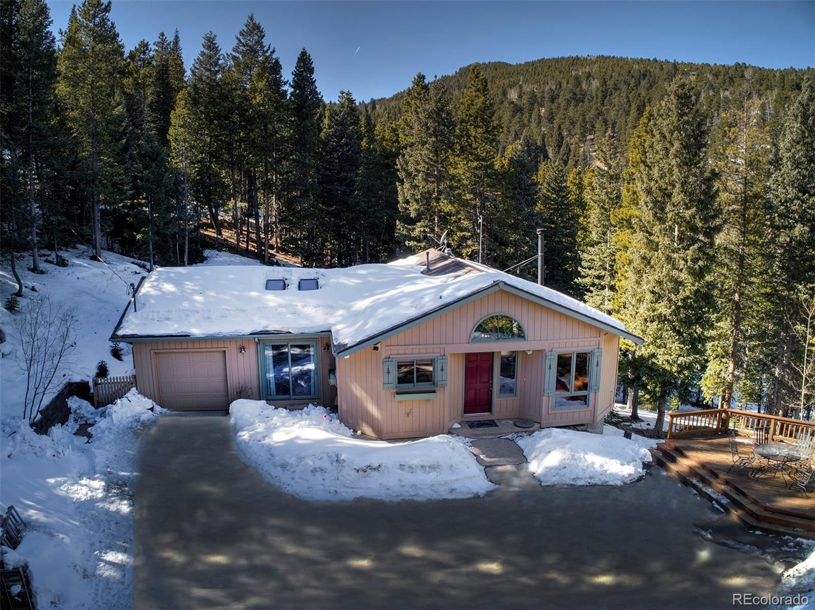547  Castlewood Drive, Evergreen, CO 80439 - #: 5870428