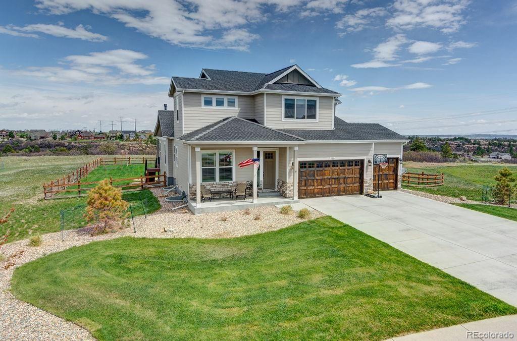 2554  Eastview Drive, Castle Rock, CO 80104 - #: 6194429