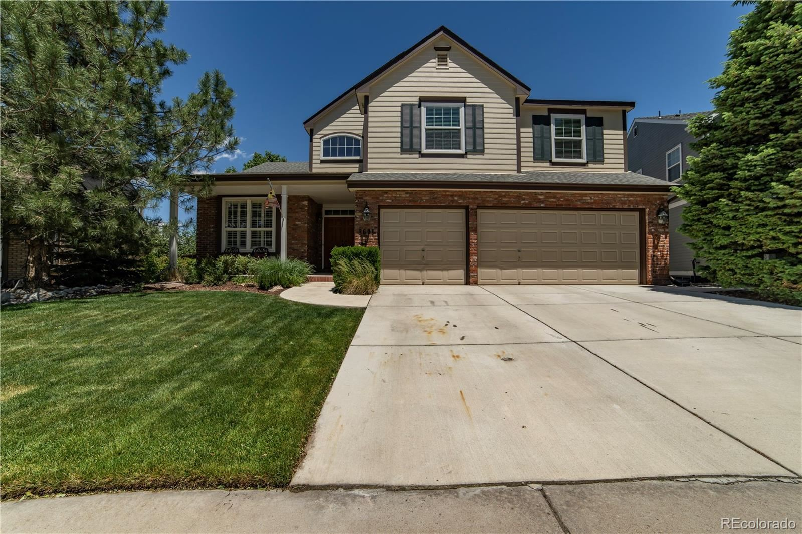 2601 Cactus Bluff Place, Highlands Ranch, CO 80129 - #: 3414433