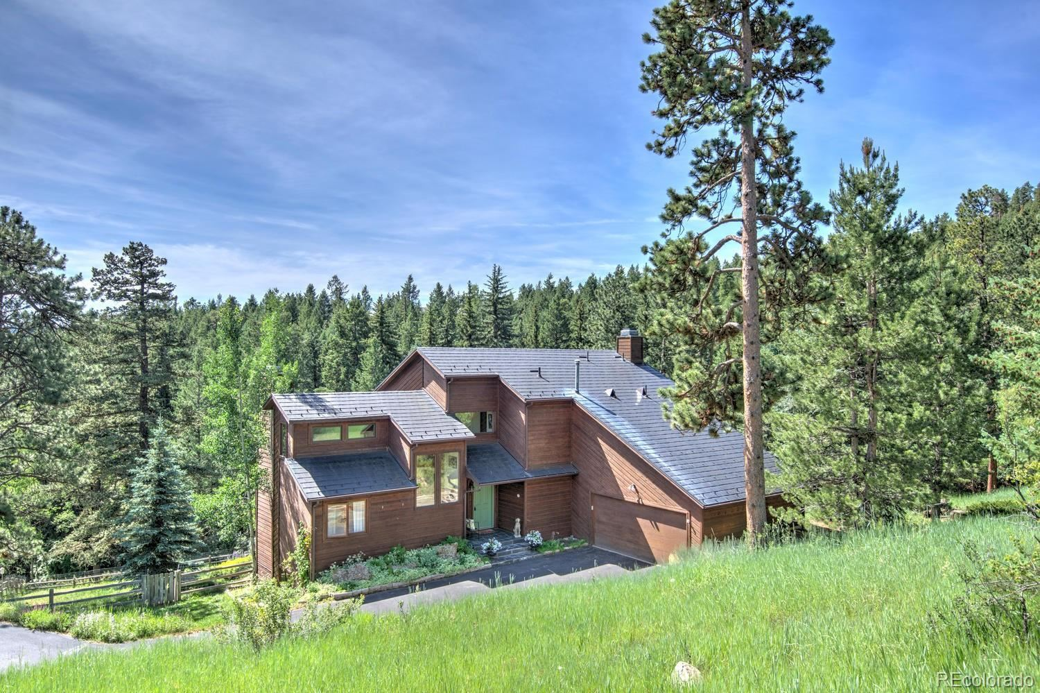 52 Wilderness Point Trail, Evergreen, CO 80439 - #: 9193443