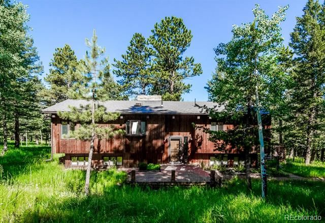 5525 Jackpine Road, Evergreen, CO 80439 - #: 8634444