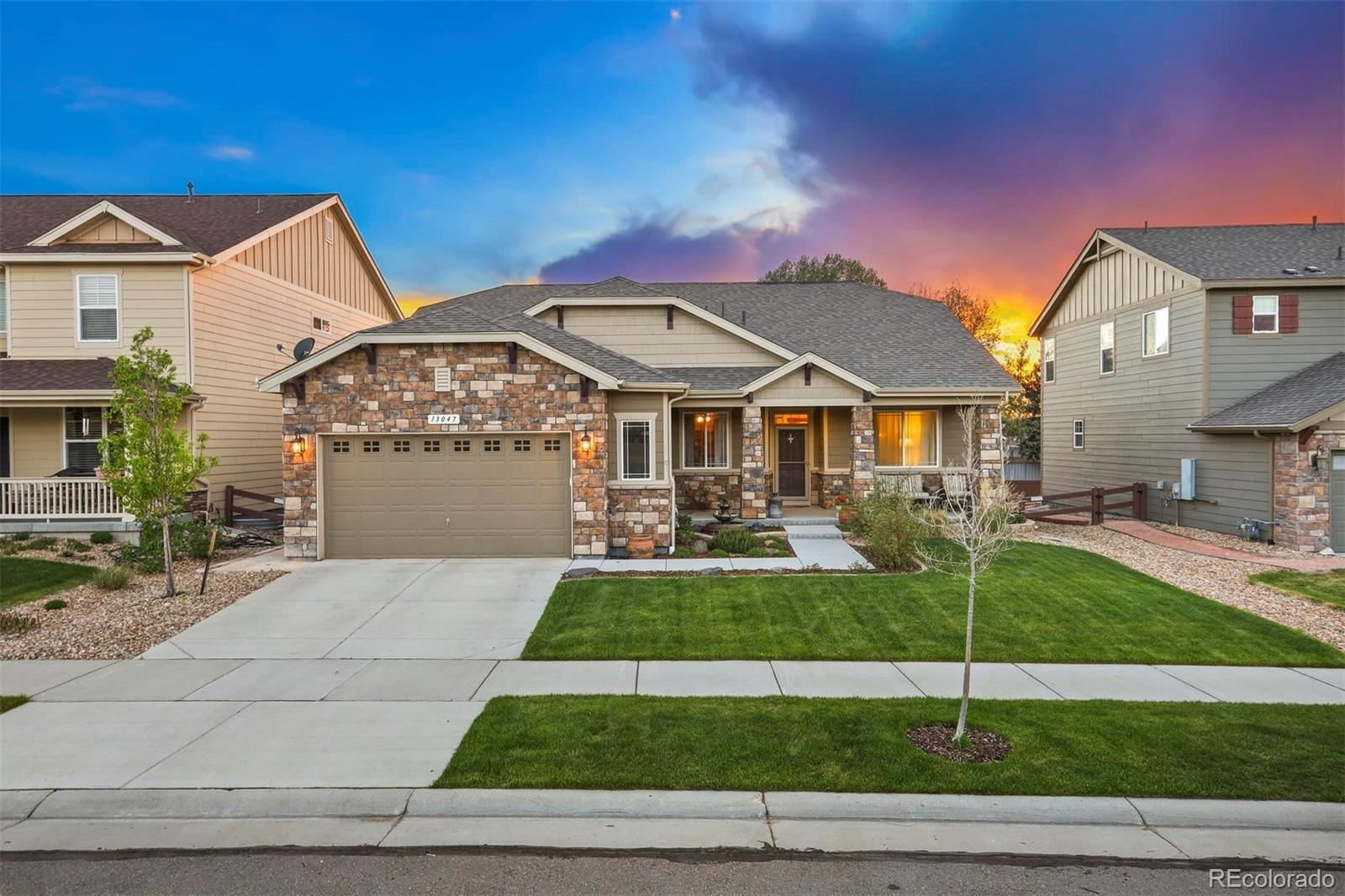 13047  Norway Maple Street, Parker, CO 80134 - #: 5587445