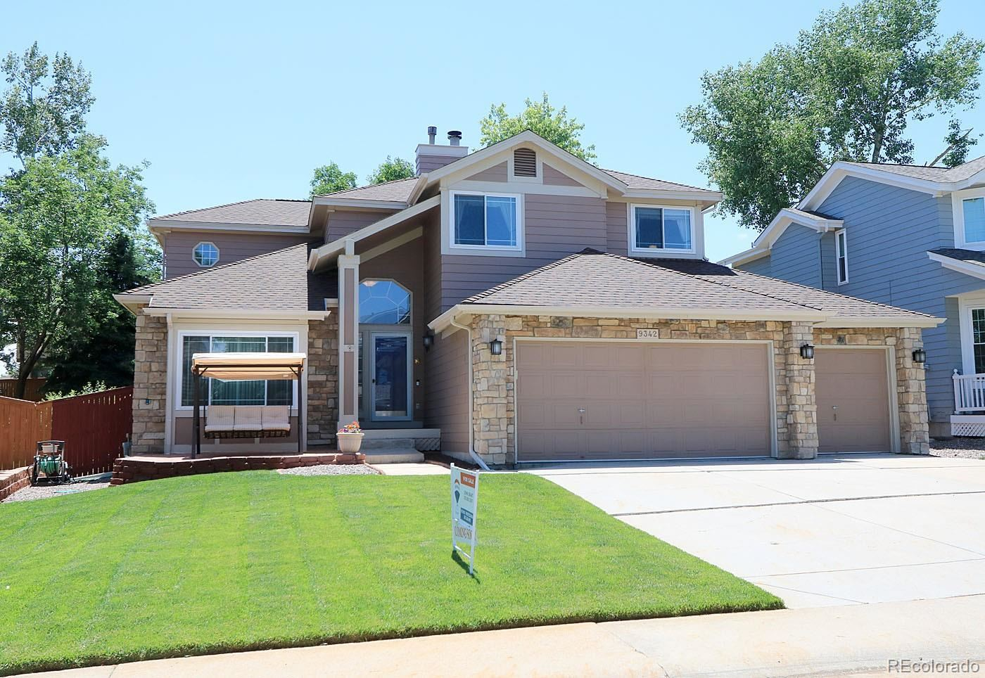 9342 Chambray Lane, Highlands Ranch, CO 80130 - #: 2493456